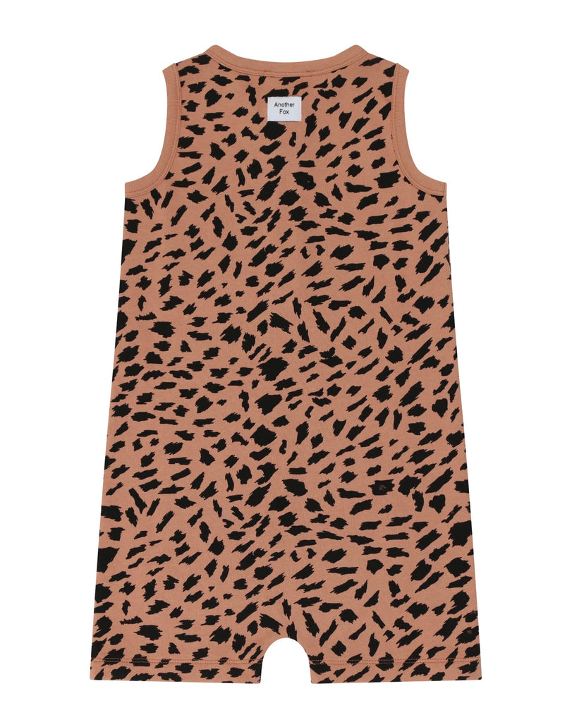 Another Fox Abstract Animal Sleeveless Shortie