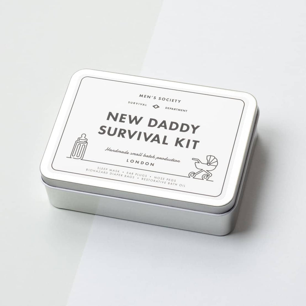 Men's Society: New Daddy Survival Kit