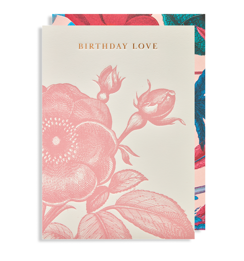 Birthday Love Greeting Card