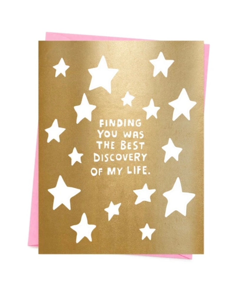Finding You Was The Best Discovery Of My Life Greeting Card