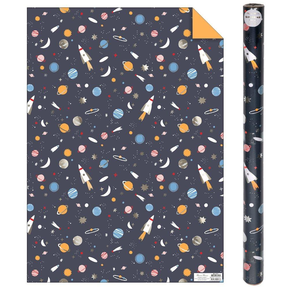 Meri Meri Space Gift Wrap Roll