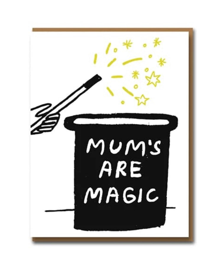 Mums Are Magic Greeting Card