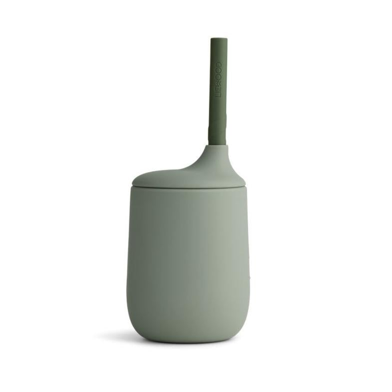 Liewood Ellis Faune Green/ Hunter Green Mix Sippy Cup