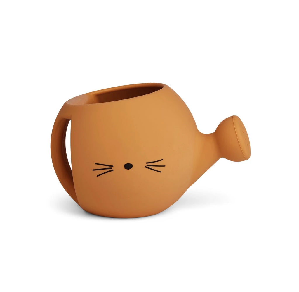 Liewood Mustard Cat Watering Can