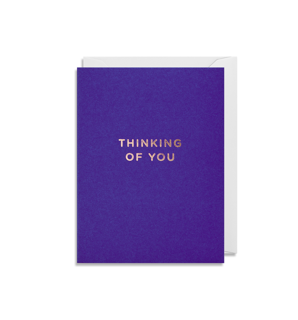 Thinking Of You Mini Greeting Card