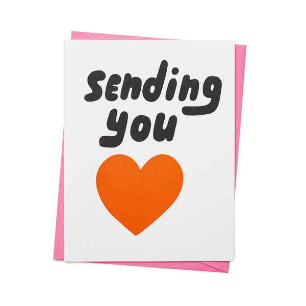 Sending You Love Greeting Card