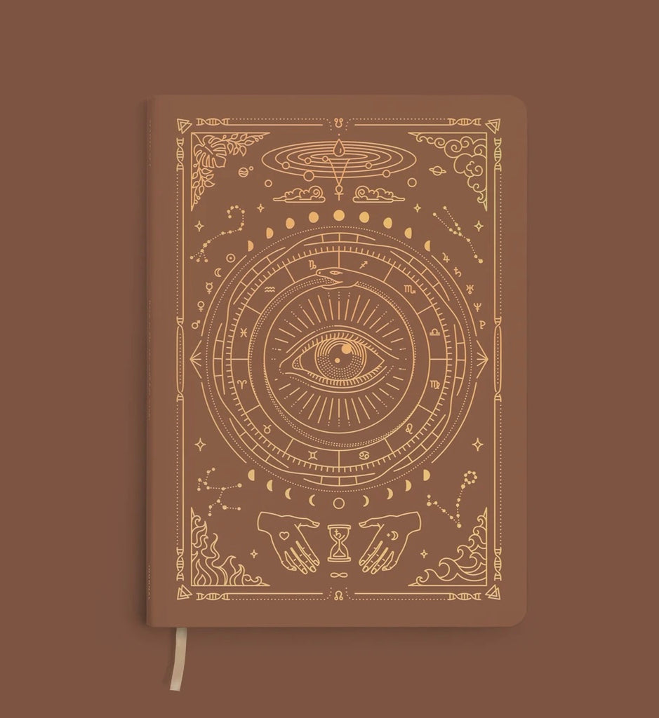 MOI Vegan Leather Lined Journal