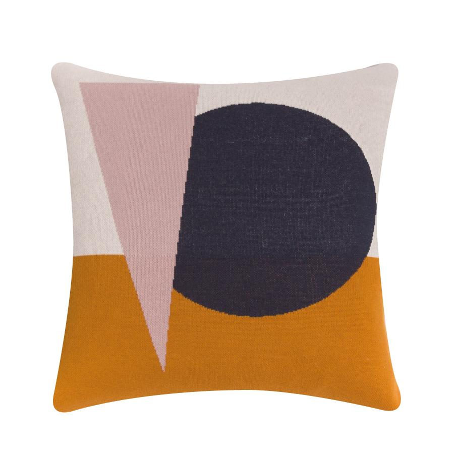 Mustard Bushwick Cushion