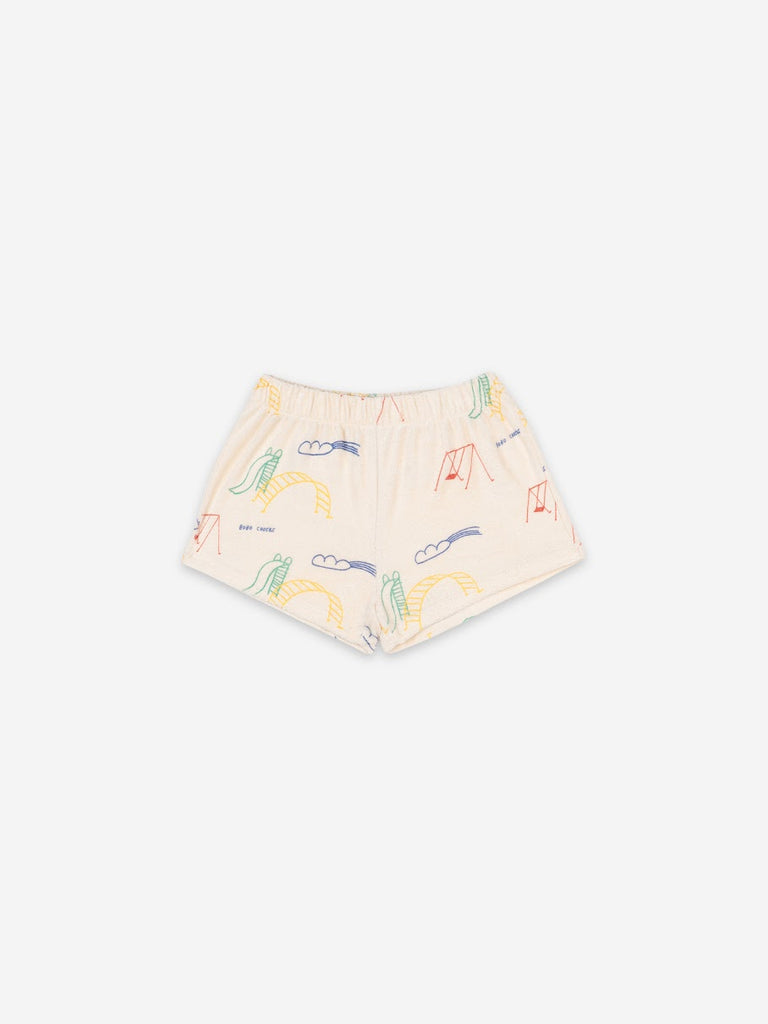 Bobo Choses Playground All Over Fleece Shorts