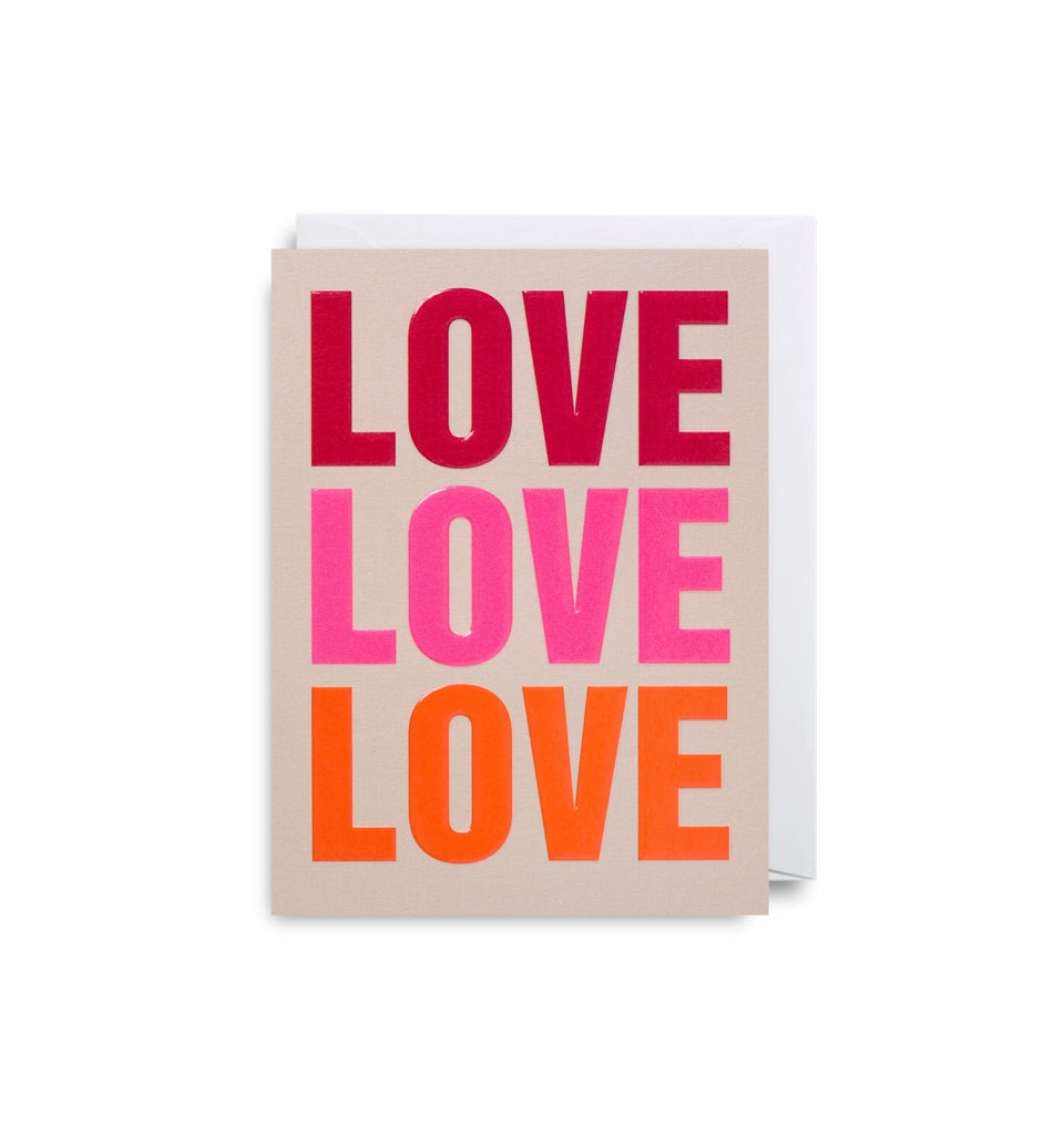 Love Mini Greeting Card
