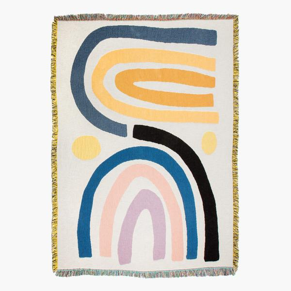 Slowdown Studio Perry Rainbow Throw