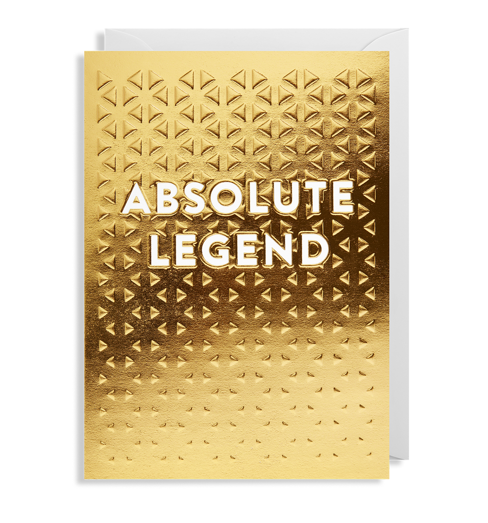 Absolute Legend Mini Greeting Card