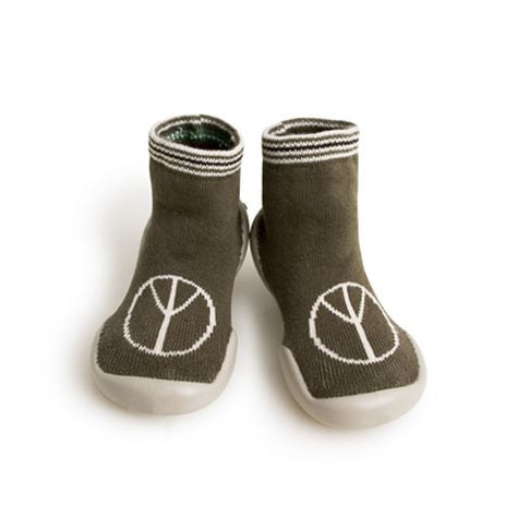 Collegien Peace Slipper Socks