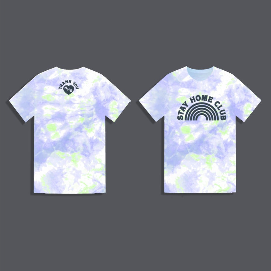 WORD Collective Stay Home Club Charity Tie Dye Tee Little Ones