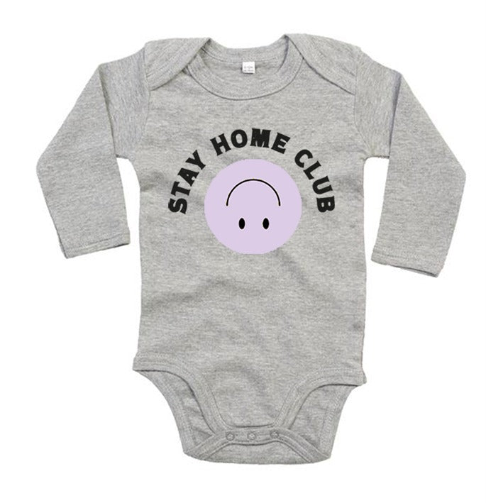 WORD COLLECTIVE STAY HOME CLUB Charity Baby Body