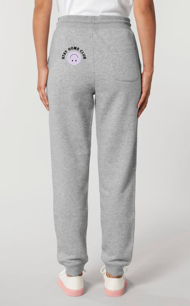 WORD COLLECTIVE STAY HOME CLUB Charity Lounge joggers Grey Marl Grown ups