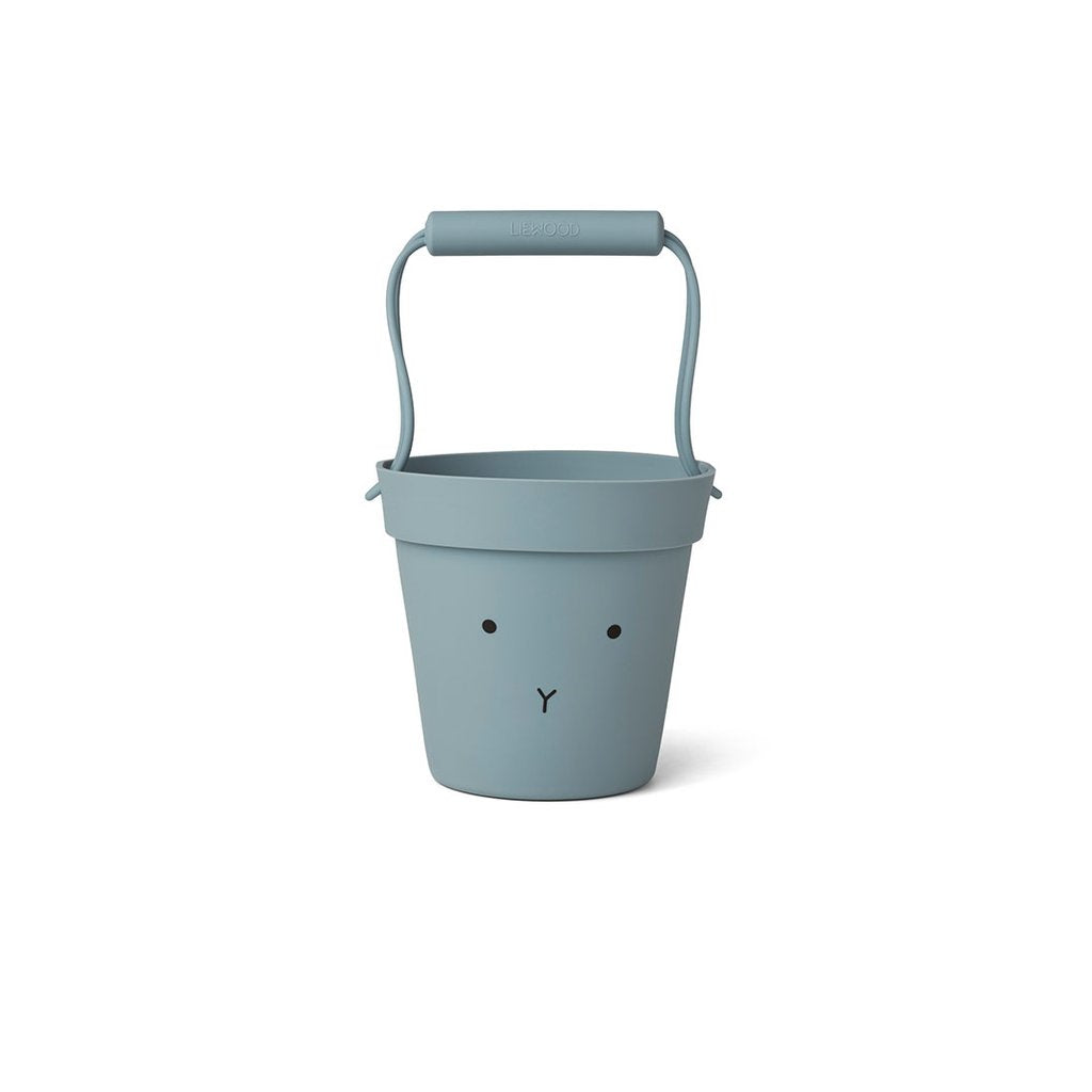 Liewood Silicone Bucket Bunny Sea Blue