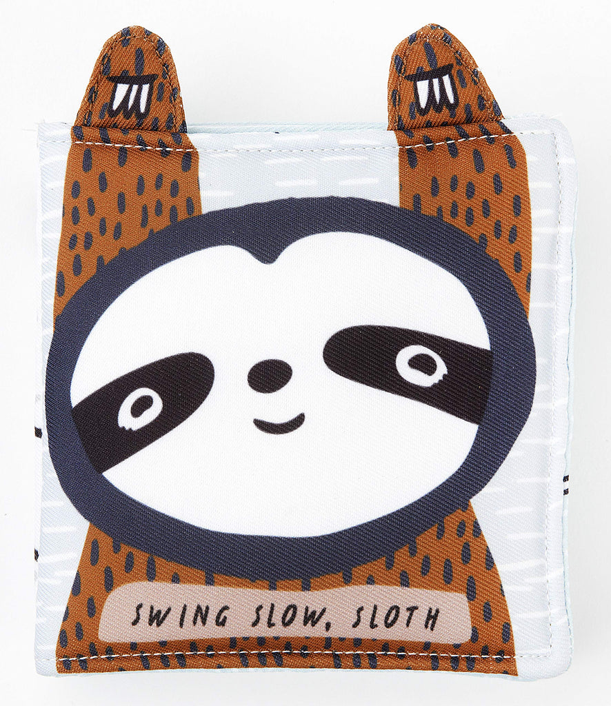 Wee Gallery Swing Slow Sloth Soft Book