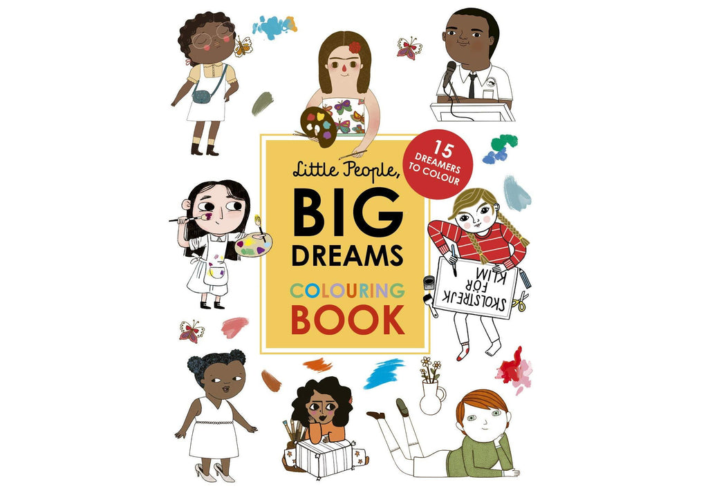 Little People, Big Dreams: Colouring Book