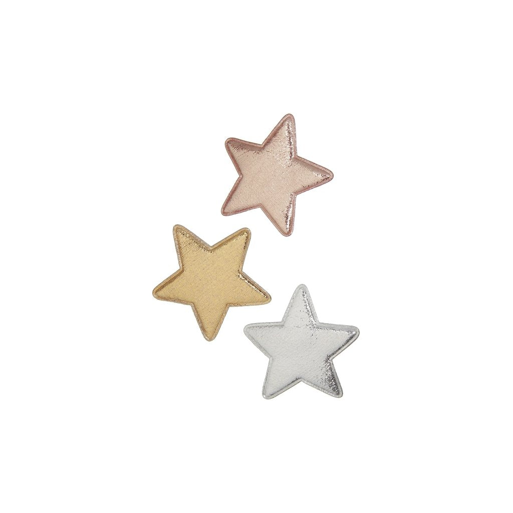 Mimi & Luna Super Star Metalic Hair Clips
