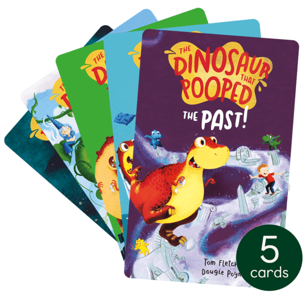Yoto Story Cards Collection: The Dinosaur That Pooped