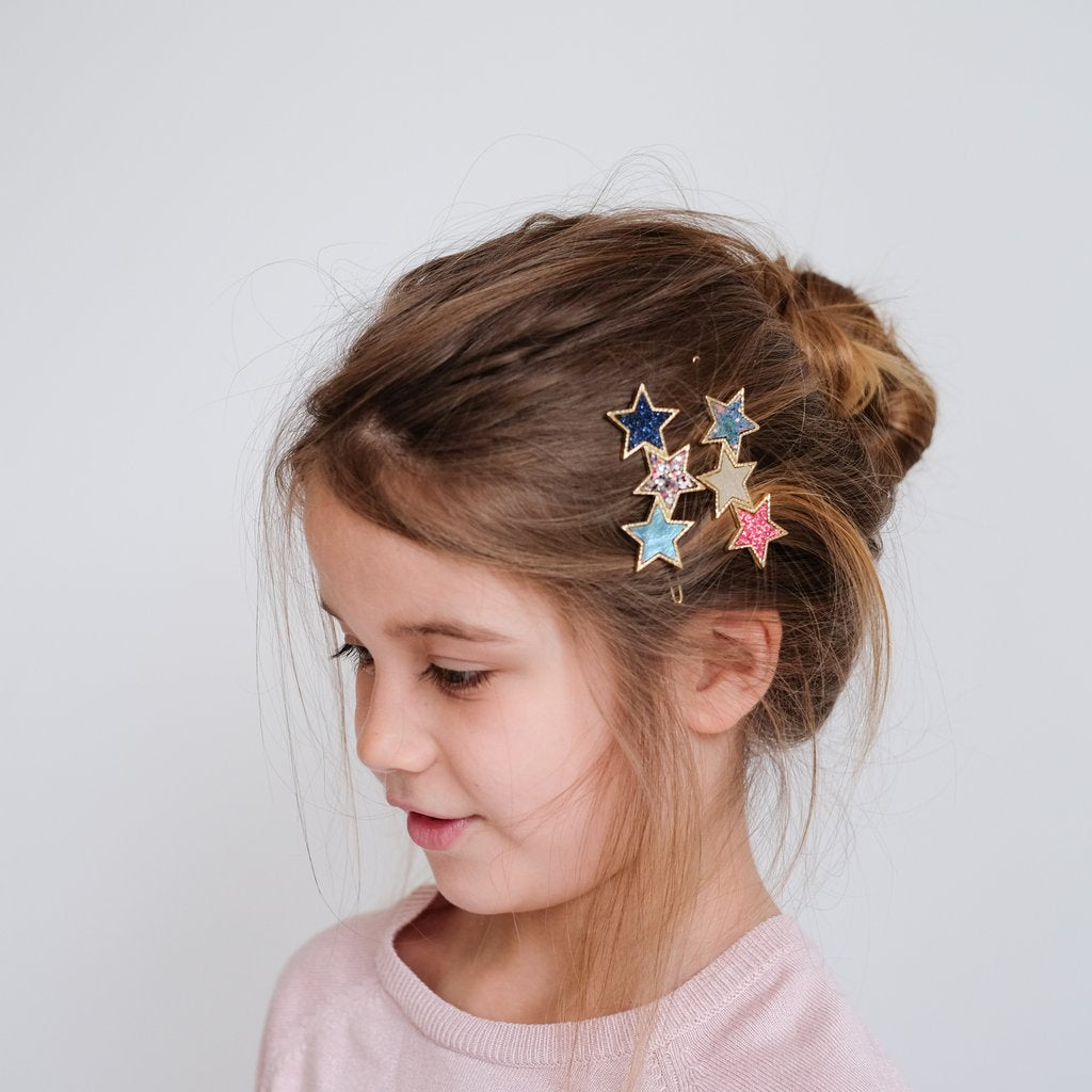 Mimi & Lula Rainbow Constellation Hair Grips