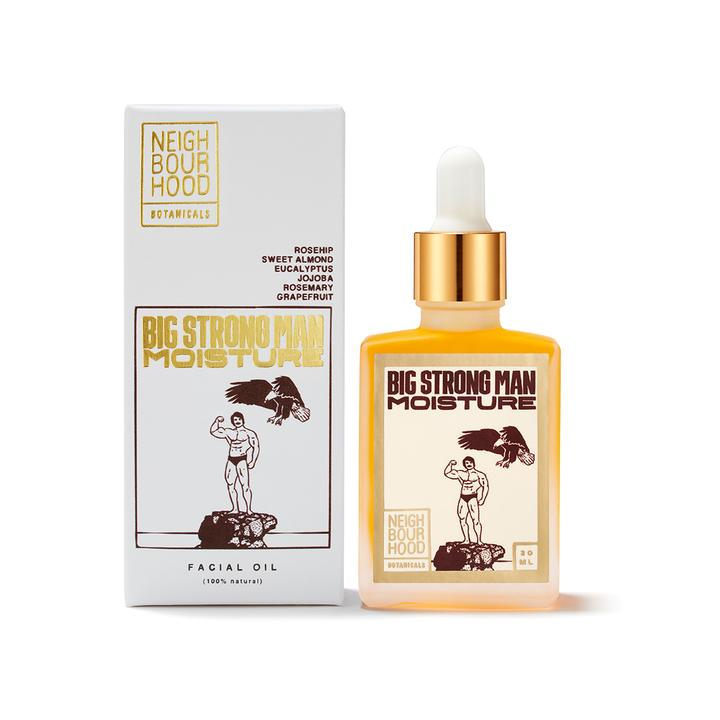 Neighbourhood Botanicals Big Strong Man Moisturising Face Oil