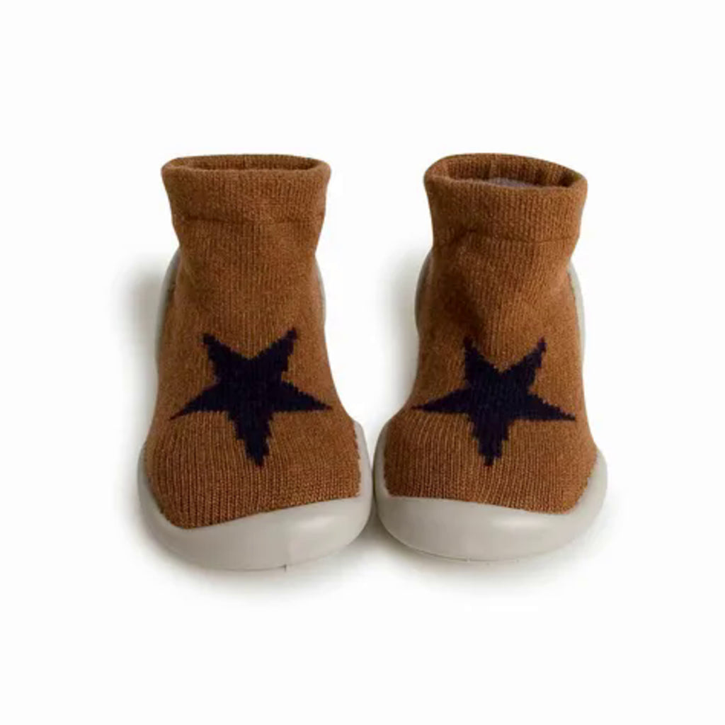 Collegien Chocolat Chaud Cashmere/ Wool Slipper Socks
