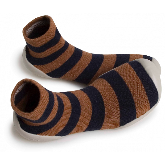 Collegien Chocolatine Dad Slipper Socks