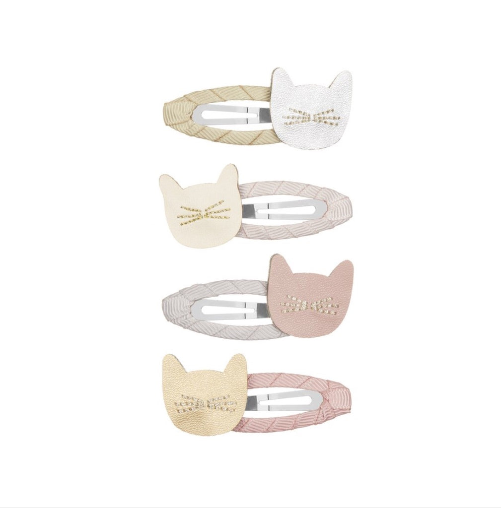 Mimi & Lula Cute Cat Hair Clip Pack