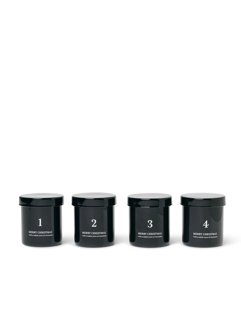 Ferm Living Advent Candles Set Of 4