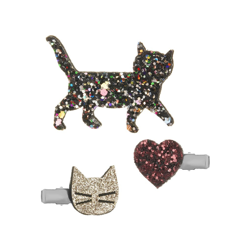 Mimi & Lula Kitty Cat Hair Clip Set