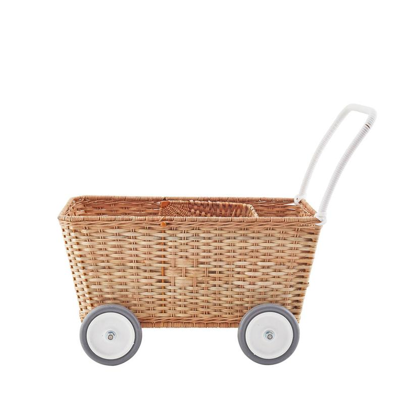 Olli Ella Strolley Natural Pram