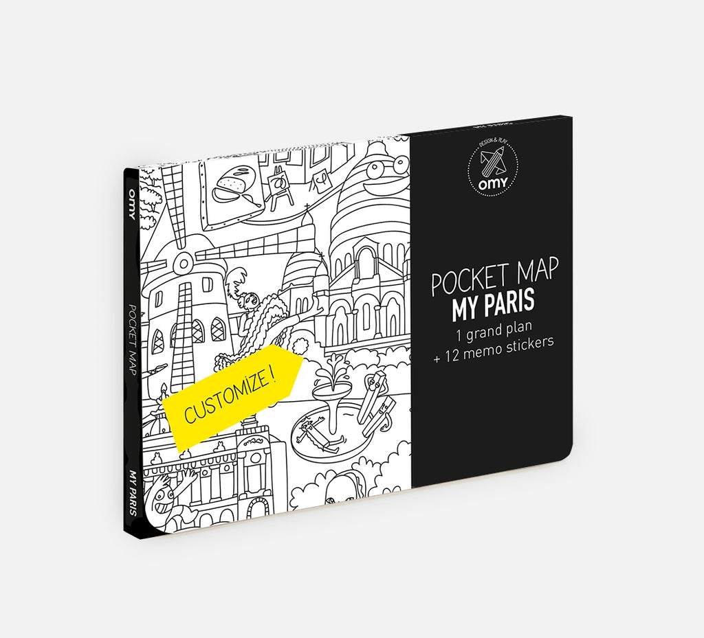 OMY Pocket Map Paris