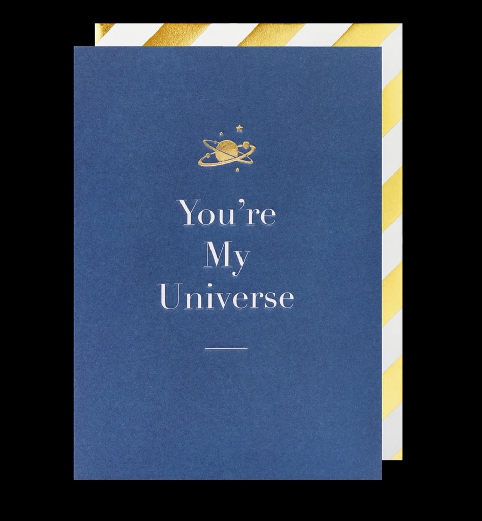 You're My Universe Greeting Card