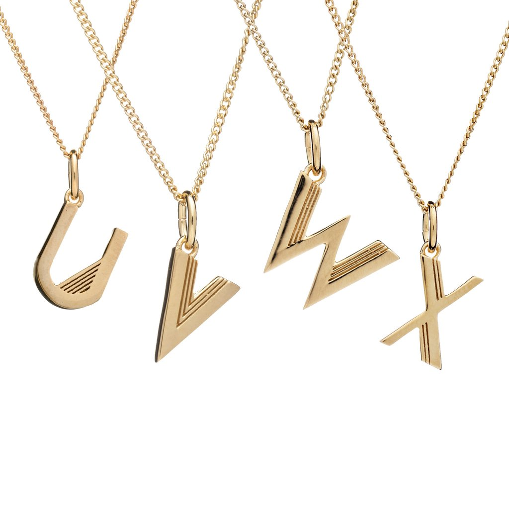 Rachel Jackson Initial Necklace - Gold