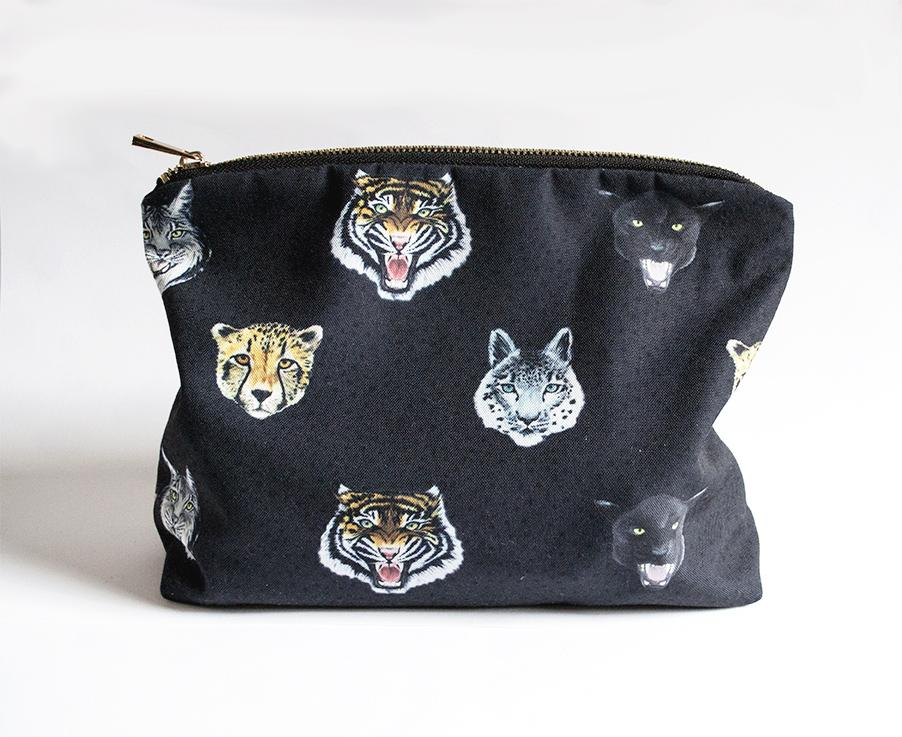 Wildcats Dark Navy Everything Clutch