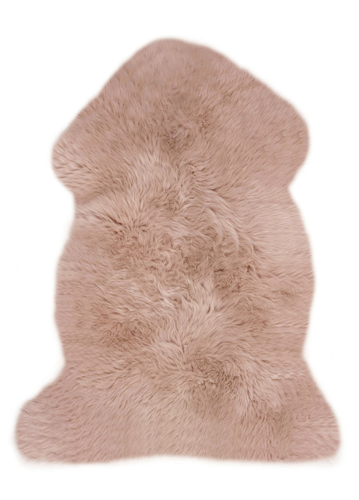 Binibamba Sheepskin Rug - Dusty Rose