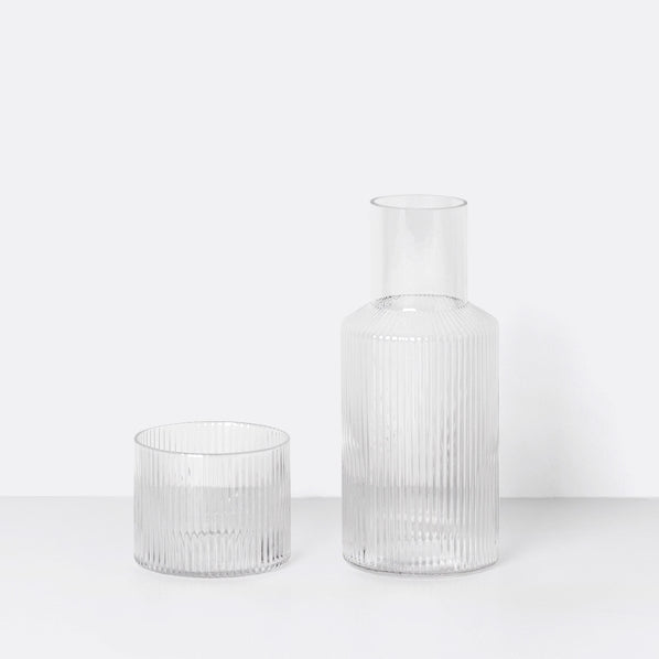 Ferm Living Ripple Carafe Set