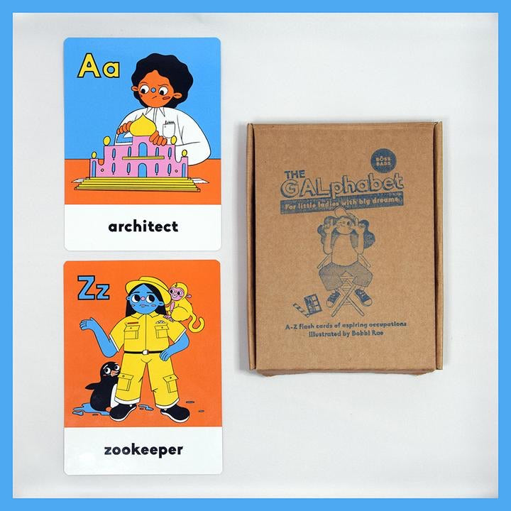 The GALphabet Flash Cards