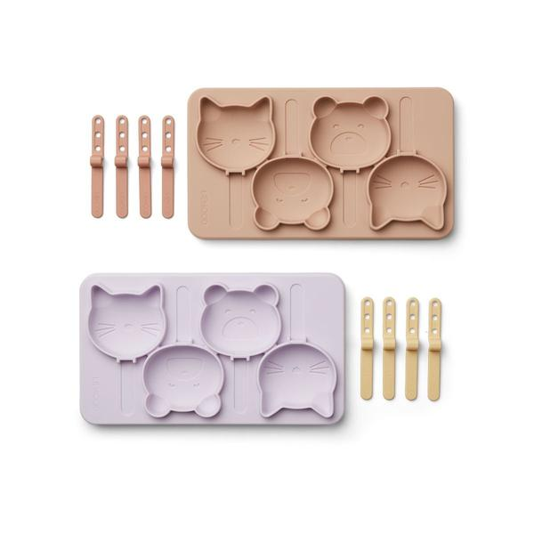 Liewood Manfred Ice Pop Trays Cat&Bear