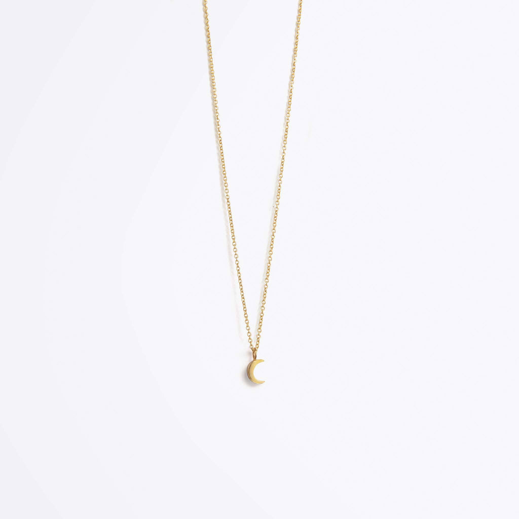 Wanderlust Life Luna Crescent Necklace