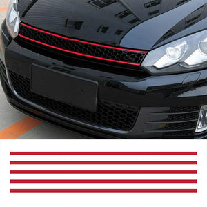 Water-resistant pegatina coche Front Hood Grille Decals