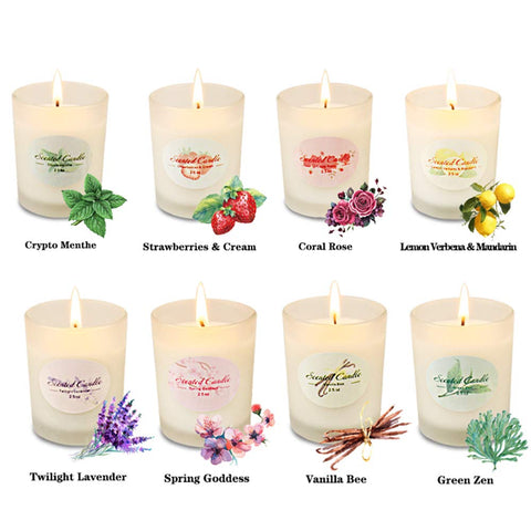 Scented Candles Aromatherapy Gift Set