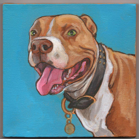 Painting as Memorial for Pet Loss