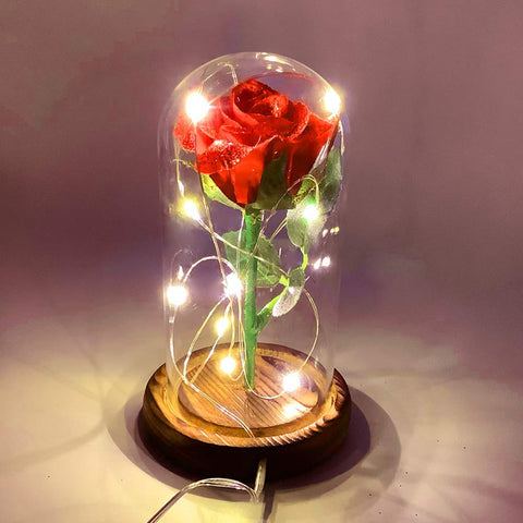 Rose with LED Lights