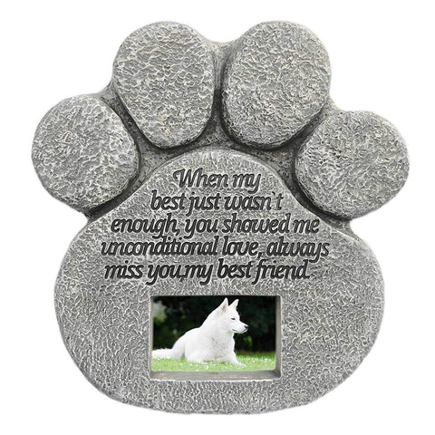tombstone for pet memorial