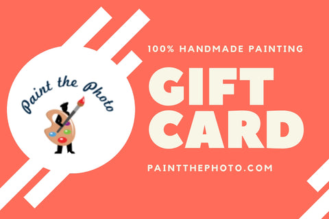 Painting Gift Card