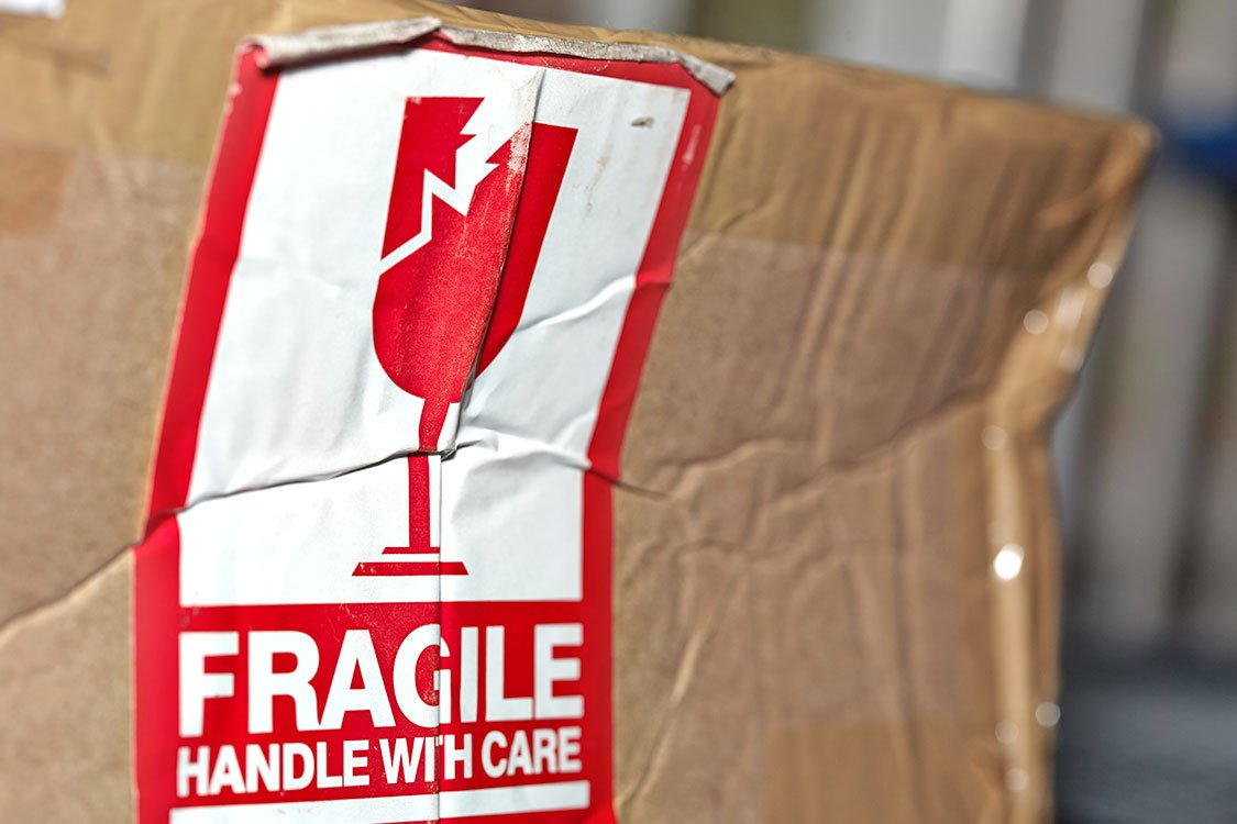 cardboard boxes for fragile items