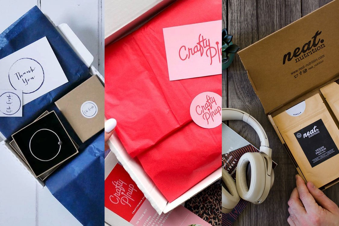 beautiful postal packaging luxury unboxing